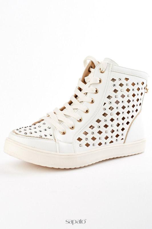 Кеды ELSI Ботинки белые