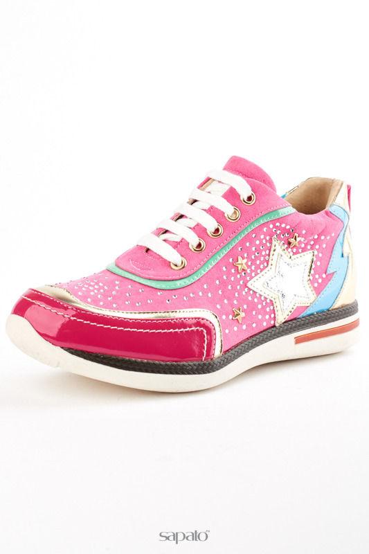 Кроссовки ELSI Ботинки розовые