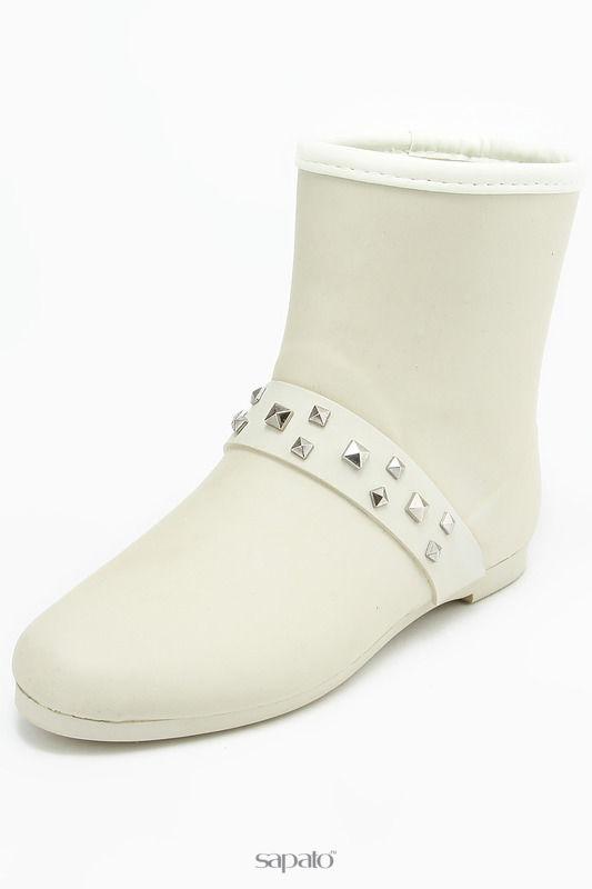 Сапоги Keddo Ботинки бежевые