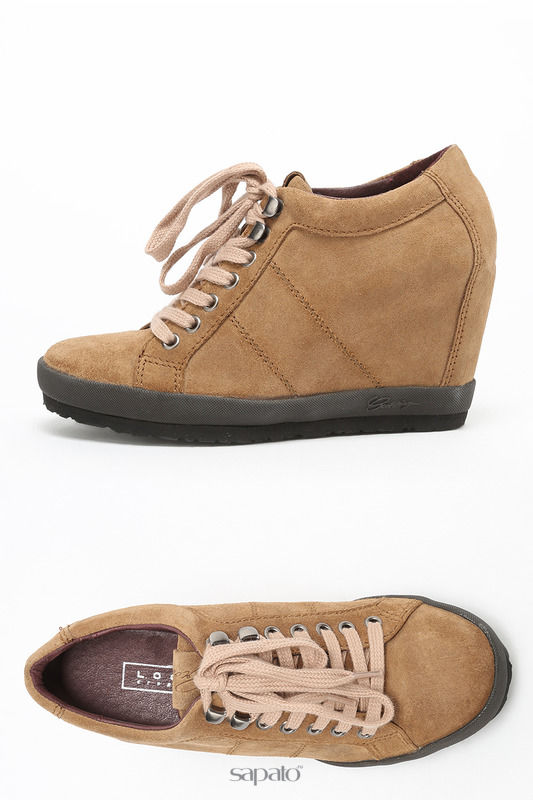 "Ботинки Logan Ботинки ""CROSSING"" бежевые"