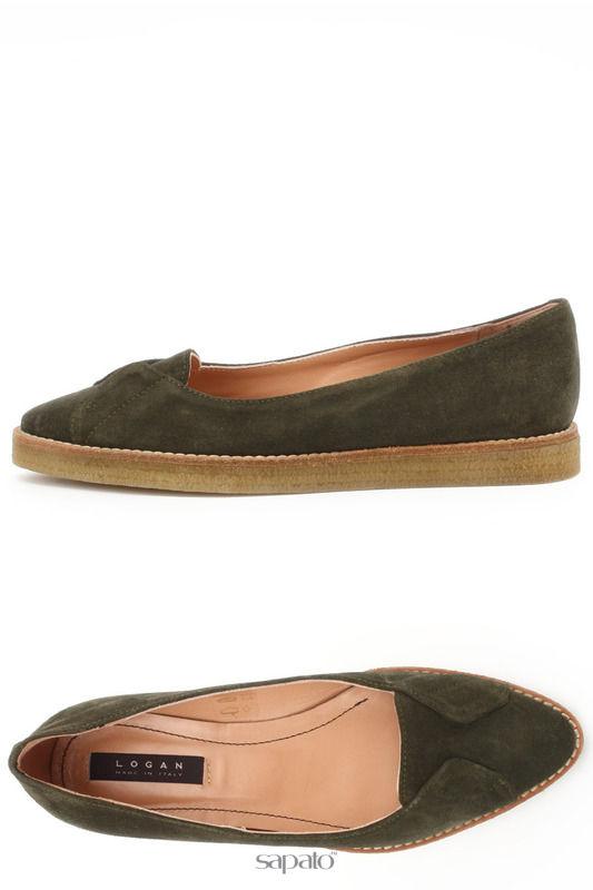 Туфли Logan Туфли зеленые