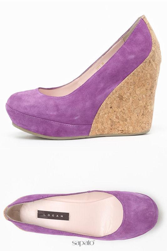 Туфли Logan Туфли фиолетовые