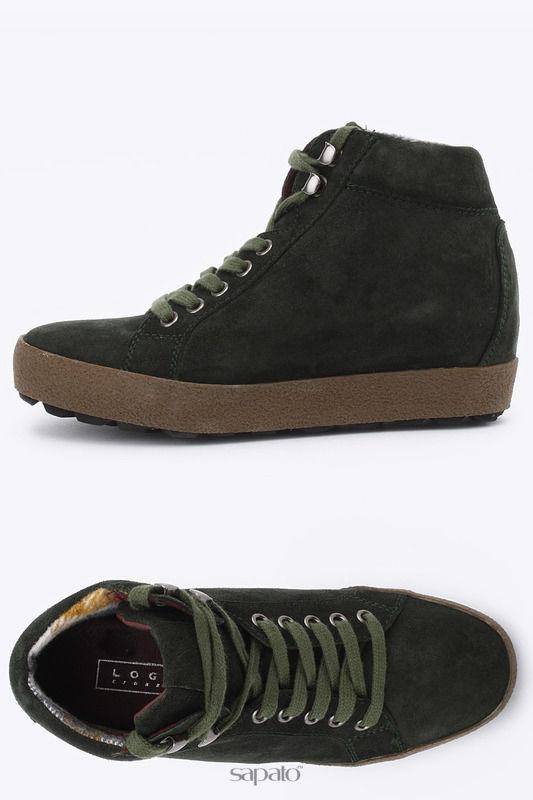 """Ботинки Logan Ботинки """"CROSSING"""" зеленые"""