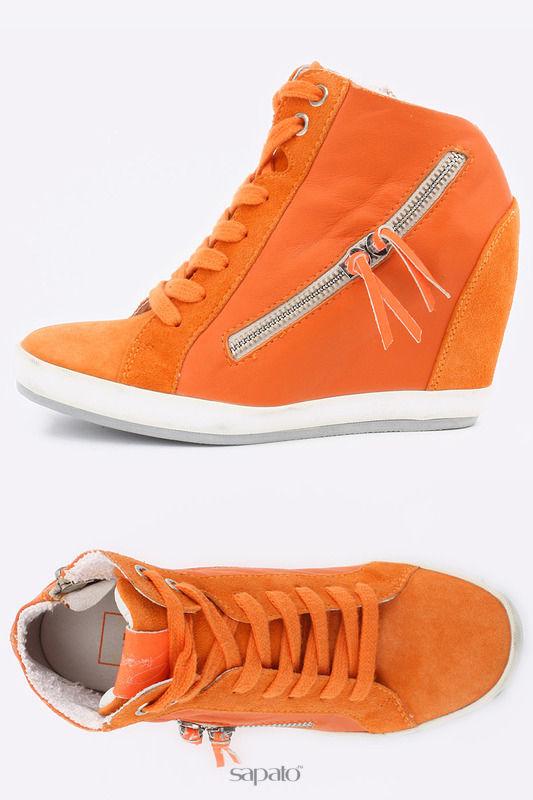 "Ботинки Logan Ботинки ""CROSSING"" оранжевые"