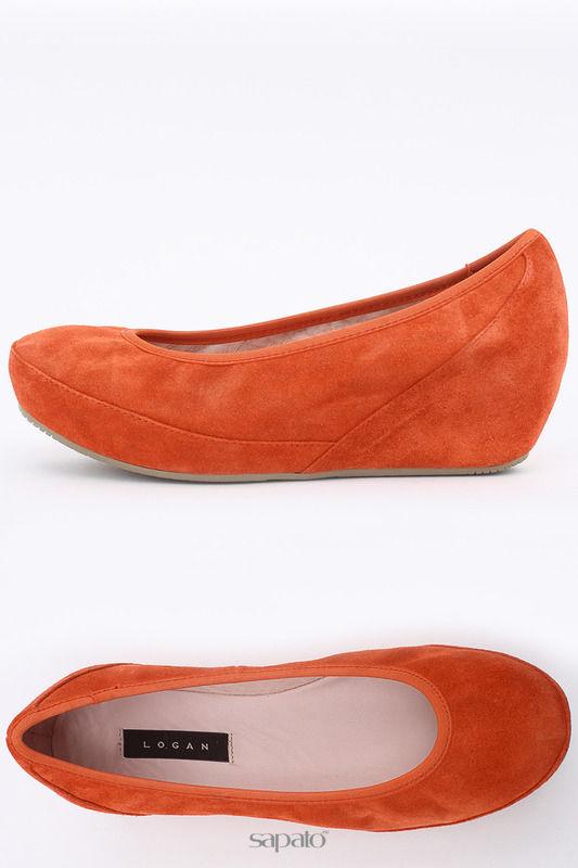 Туфли Logan Туфли оранжевые