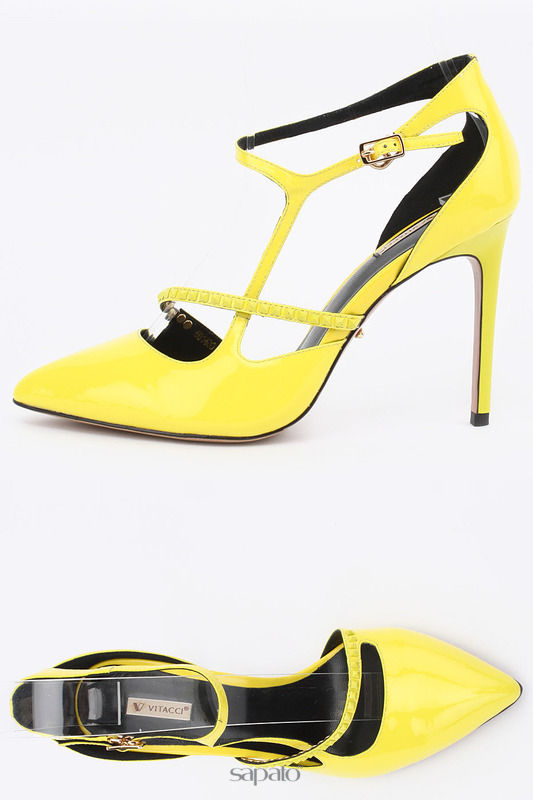 Туфли Vitacci Туфли жёлтые