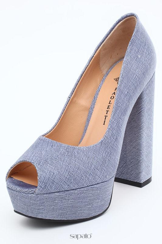 Туфли Paoletti Туфли синие