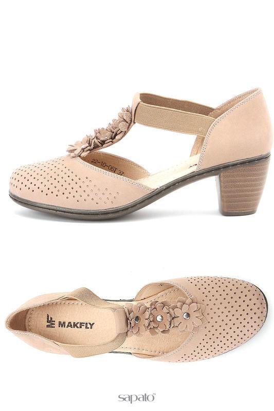 Туфли MAKFLY Туфли открытые розовые
