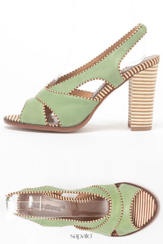 Босоножки Julia Grossi Туфли летние зеленые