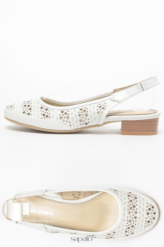 Босоножки Julia Grossi Туфли летние белые