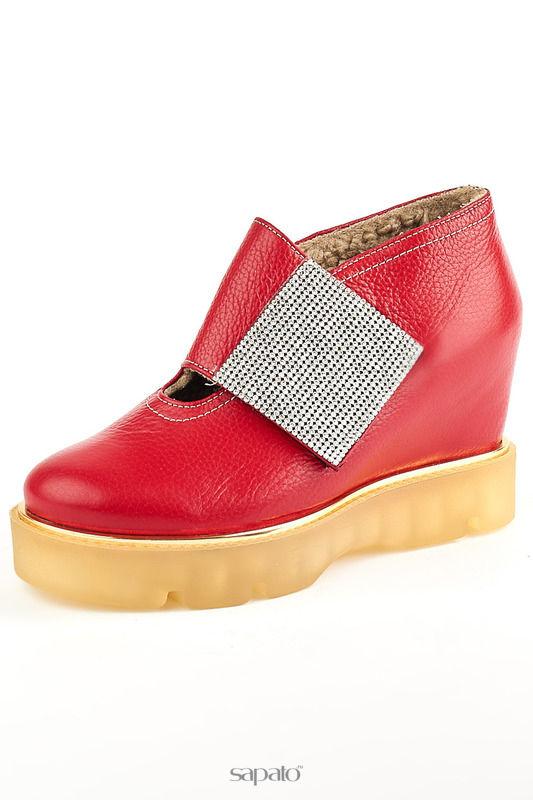 Ботинки Grand Style Ботинки красные