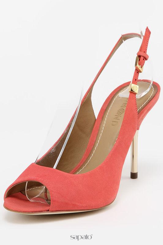 Босоножки Dumond Туфли летние открытые красные