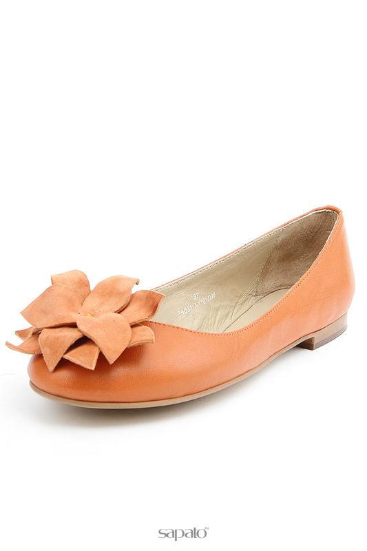 Балетки Svetski Балетки оранжевые