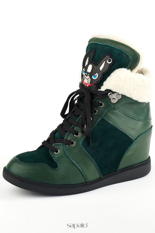 Ботинки Grand Style Ботинки зеленые