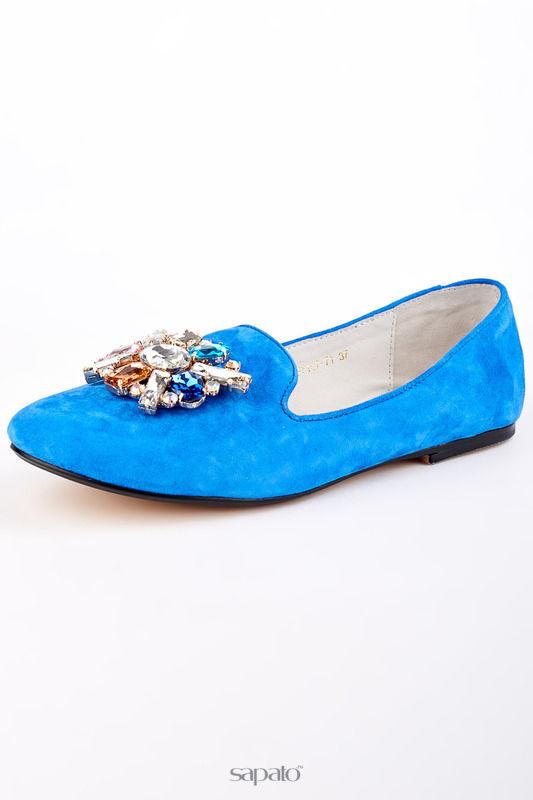 Балетки Riccorona Балетки голубые