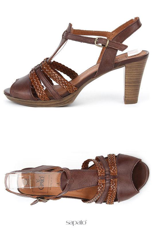 Босоножки Caprice Туфли коричневые