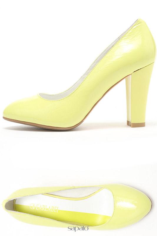 Туфли Carlabei Туфли жёлтые