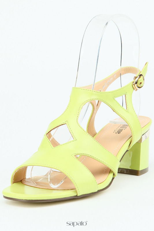 Босоножки MakFine Туфли открытые зеленые