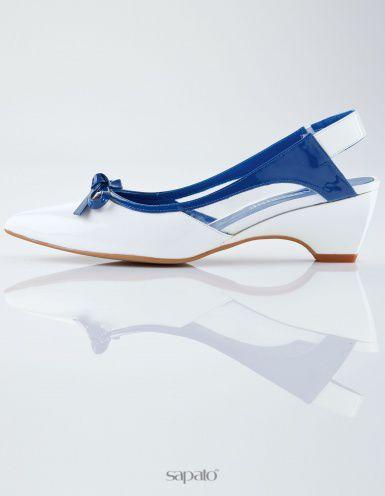 Туфли Madeleine Туфли белые / синие