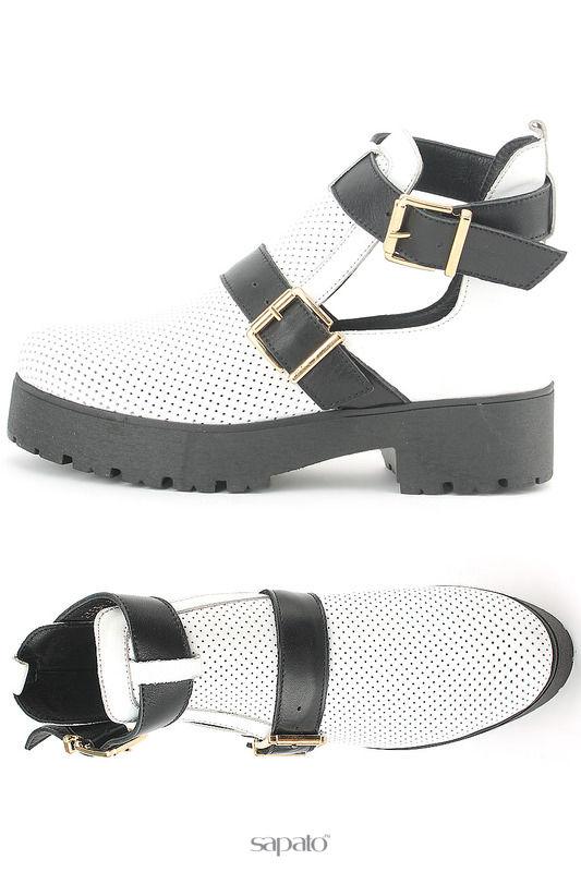 Ботинки Benta Ботинки белые