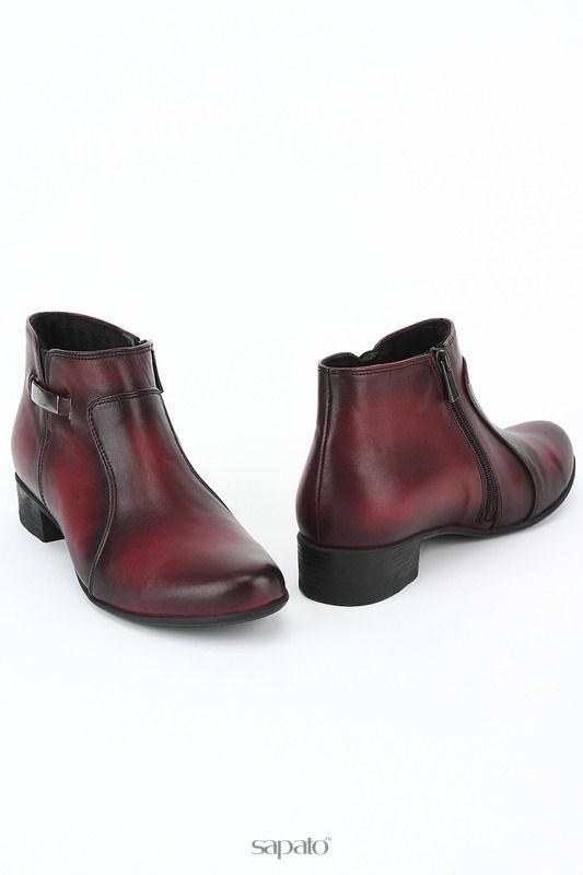 Ботинки Benta Ботинки красные