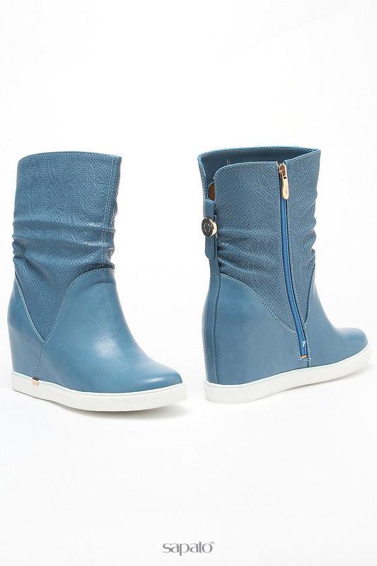 Ботинки MAKFLY Ботинки голубые