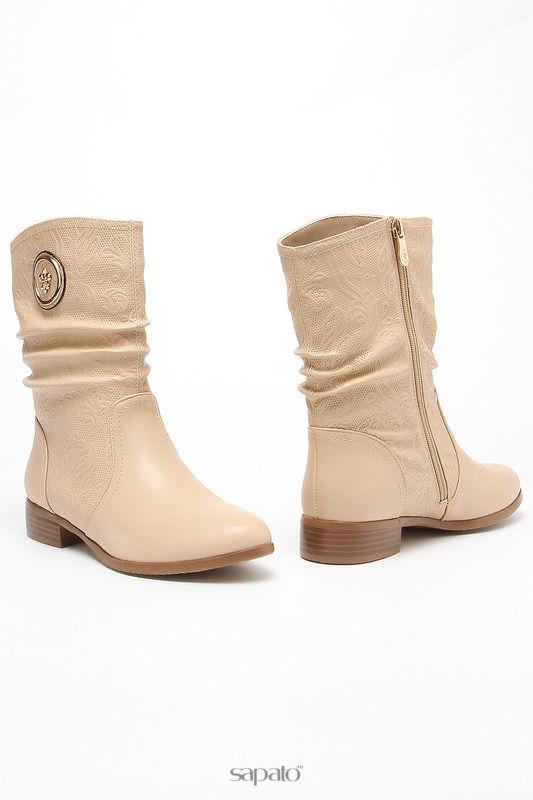 Ботинки MAKFLY Ботинки бежевые