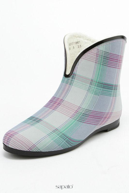 Сапоги Keddo Ботинки голубые