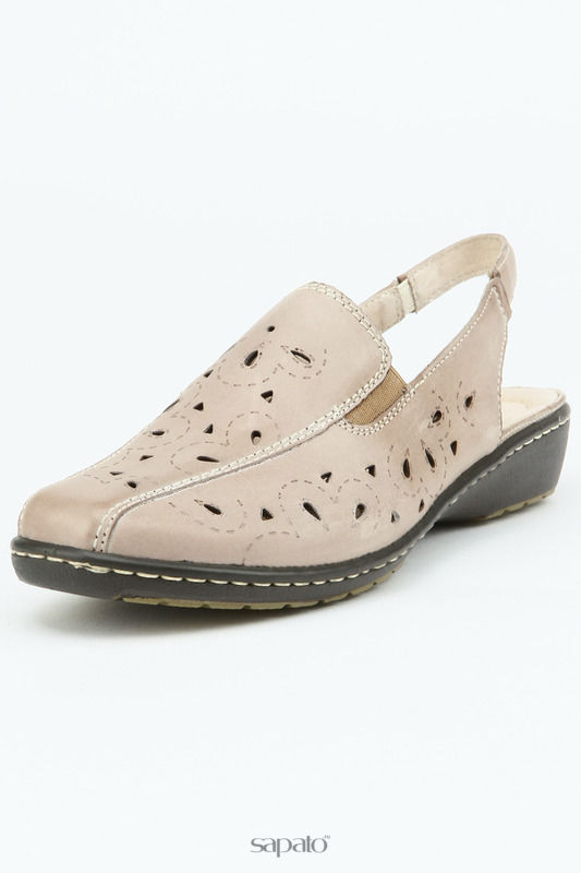 Босоножки Vigorous Туфли открытые серые