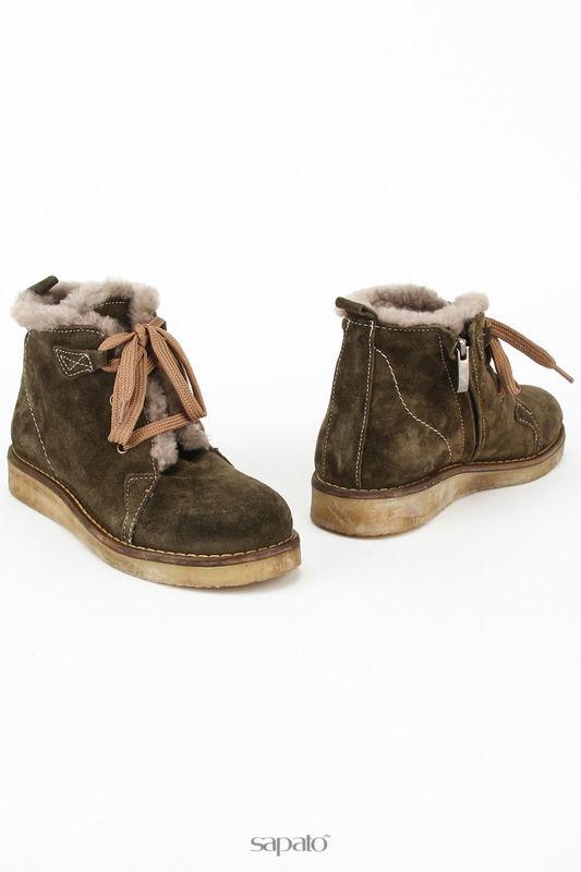 Ботинки Benta Ботинки зеленые