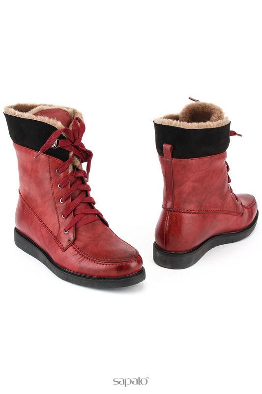 Ботинки MakFine Ботинки красные