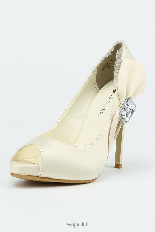 Туфли Vigorous Туфли свадебные бежевые