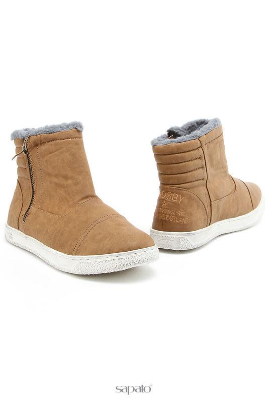 Ботинки CROSBY Ботинки бежевые
