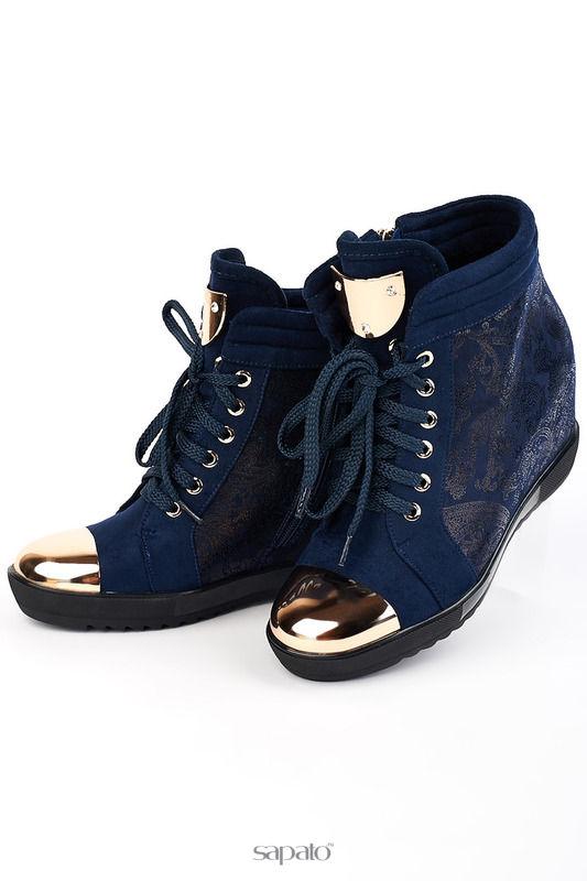 Ботинки ELSI Ботинки синие