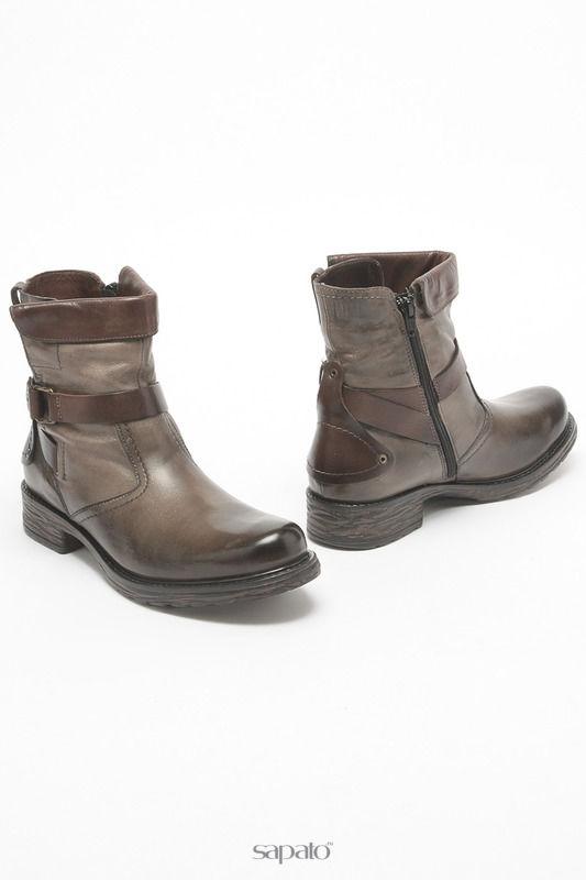 Ботинки Tamaris Ботинки бежевые