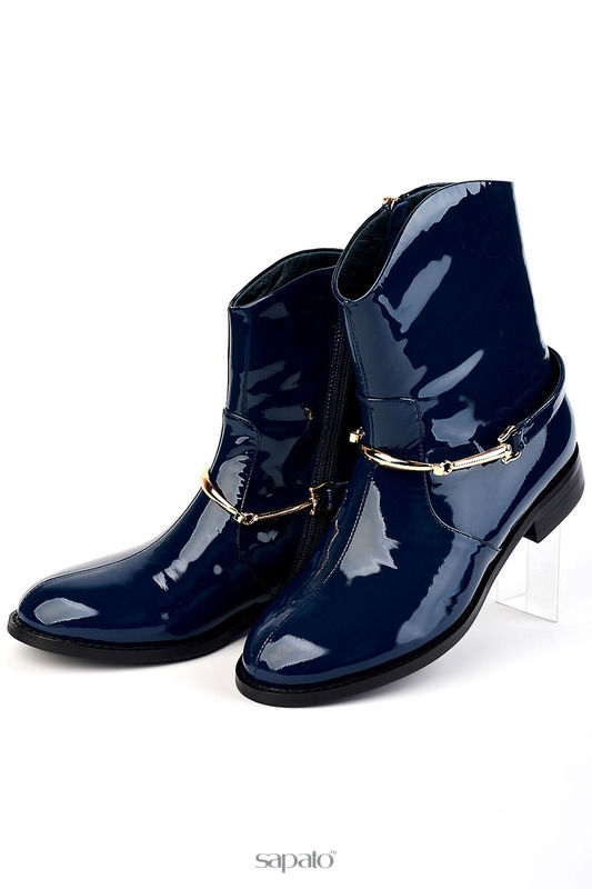 Ботинки Riccorona Ботинки синие