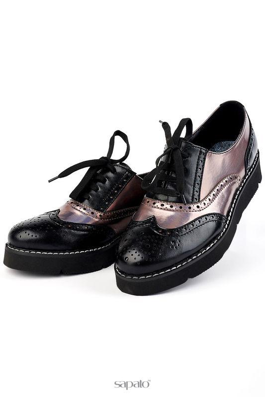 Ботинки Vita Ricca Полуботинки чёрные