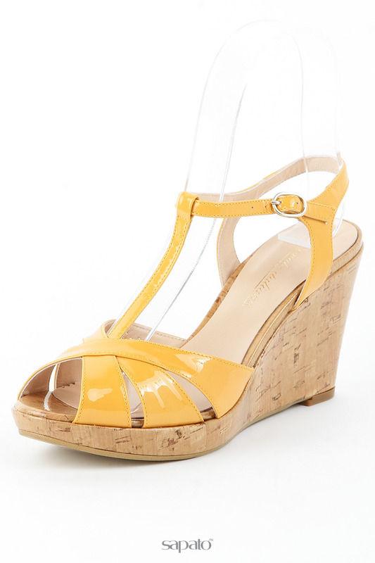 Босоножки Formula Italiana Туфли жёлтые