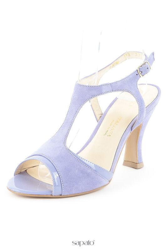 Босоножки Formula Italiana Туфли голубые