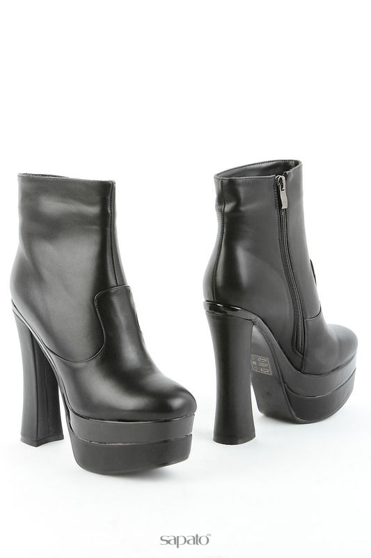 Ботильоны 1TO3 Ботинки чёрные