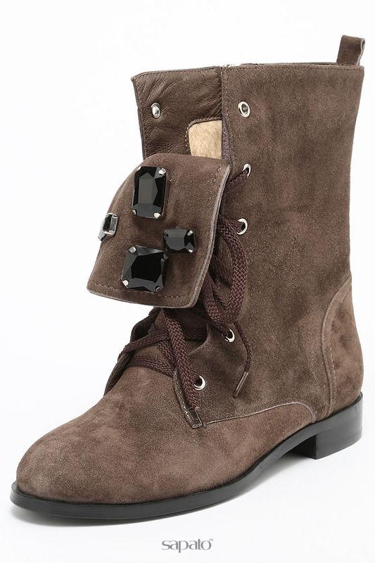 Ботинки Riccorona Ботинки серые