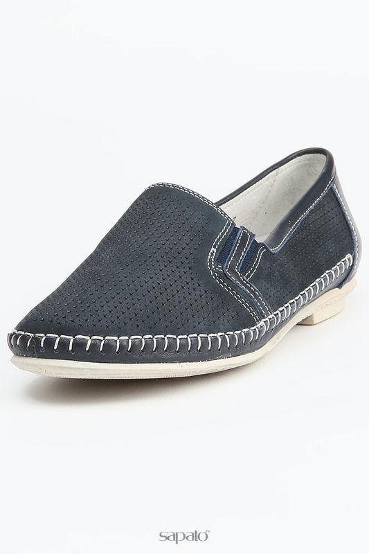 Ботинки MakFine Полуботинки синие