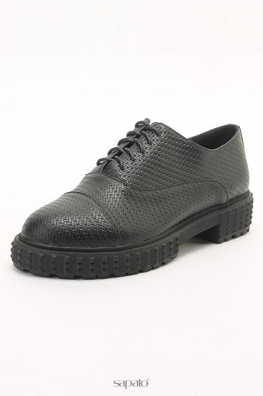 Ботинки SP Полуботинки чёрные