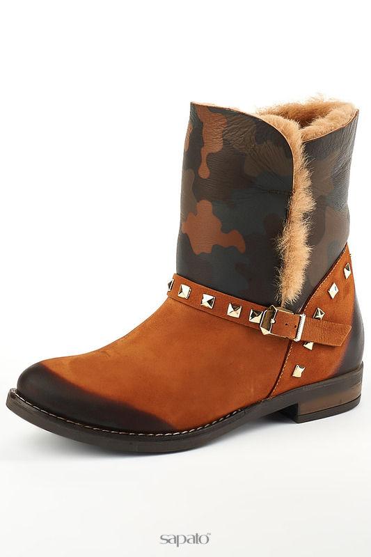 Ботинки Grand Style Ботинки оранжевые
