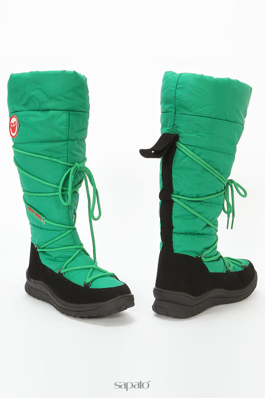 Сапоги Mon Ami Сапоги зеленые