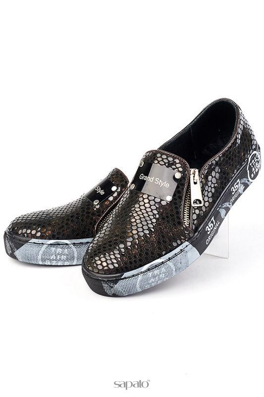 Туфли Grand Style Туфли коричневые