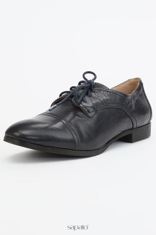 Ботинки BROCOLY Туфли синие