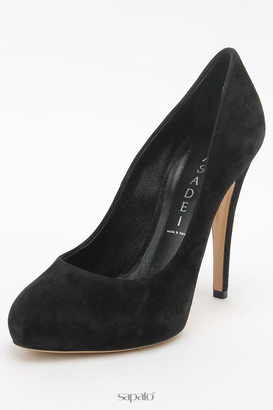 Туфли Casadei Туфли чёрные