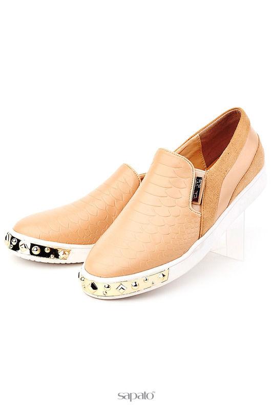 Ботинки KARANFIL Туфли бежевые