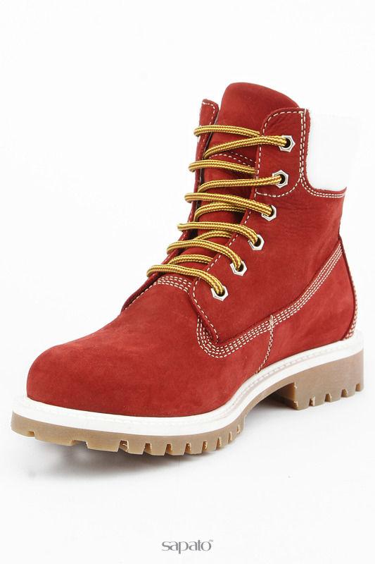 Ботинки Piranha Ботинки красные